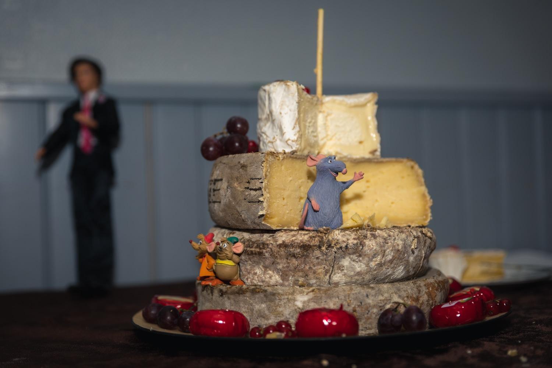 Plateau de fromage Ratatouille