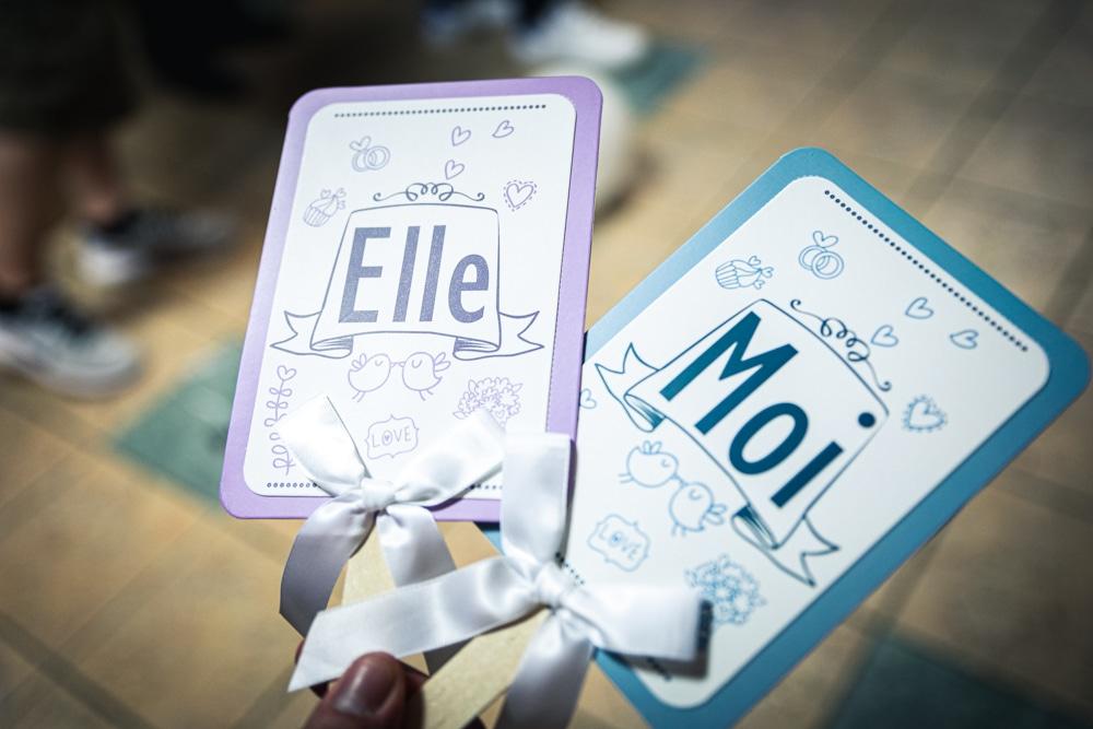 Pancartes Elle et Lui
